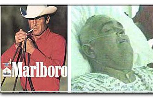 Актер олицетворял свободу и брутальность, а умер от рака легких в возрасте 52 лет.
