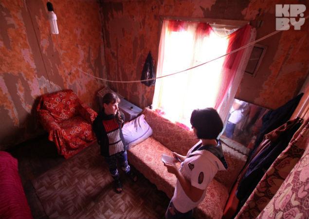 В этой комнате родилась социальная сирота - это единственное хорошее воспоминание о детстве и родителях