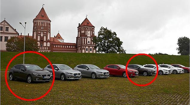 Две из восьми новеньких Mazda3, похоже, навсегда останутся в Беларуси.