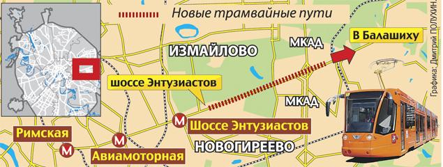 для трамвайных путей,