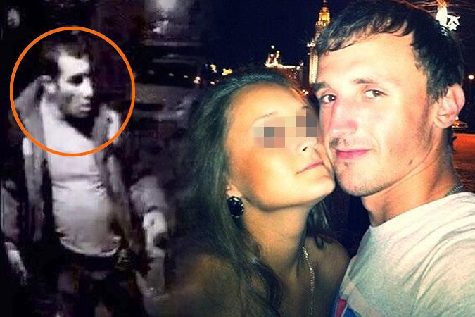 Несмотря на все усилия полиции, преступник (он на фото слева - это кадр с камеры наружного наблюдения) до сих пор не пойман.
