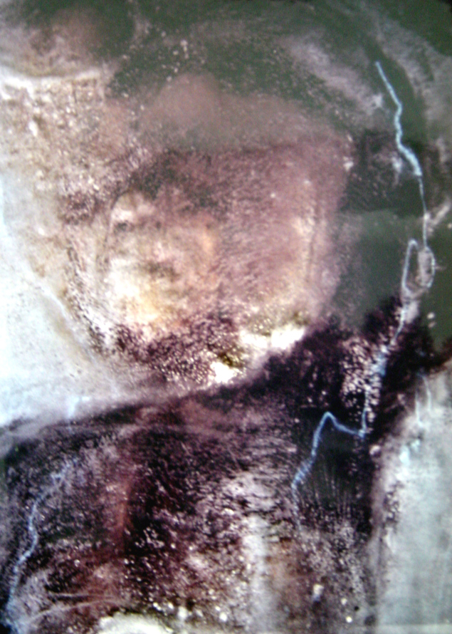 Фото глыбы льда с замороженным йети, сделанное в 1968 году