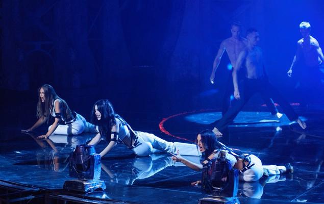 Участницы шоу осваивали непростую хореографию