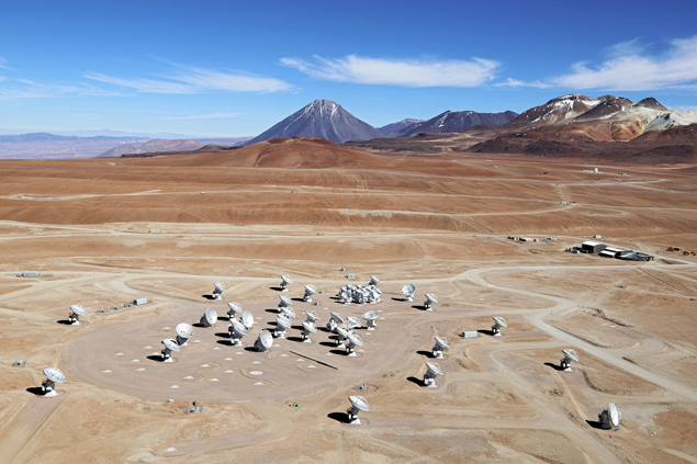 Телескоп ALMA (Atacama Large Millimeter/submillimeter Array)