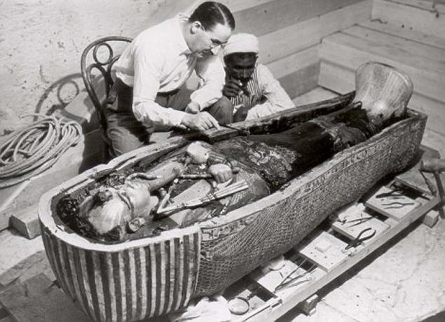В таком виде Тутанхамона нашли