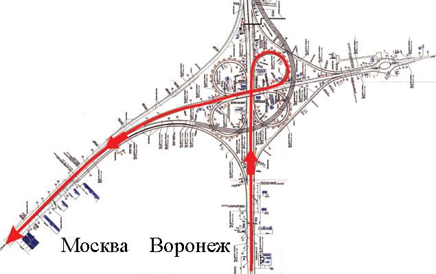 Москва — Ростов на въезде
