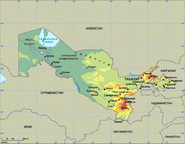 Узбекистан - это продукт творчества большевистских