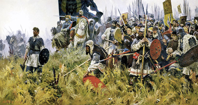 Россия совсем недавно вышла из 600-летнего цикла, который начался с Куликовской битвы...