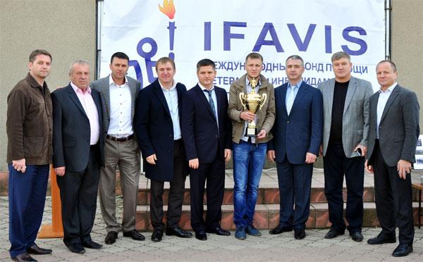 Фонд IFAVIS помогает всему молдваскому спорту, в частности, футболу.