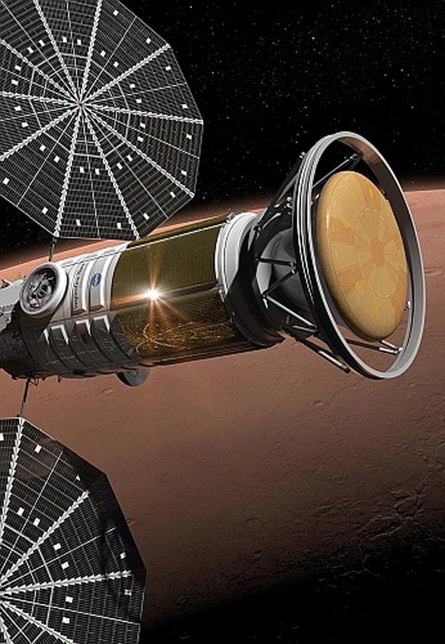 Марсианский корабль