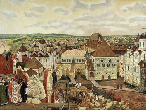 Ивана III начал приглашать для строительства Кремля иностранных зодчих
