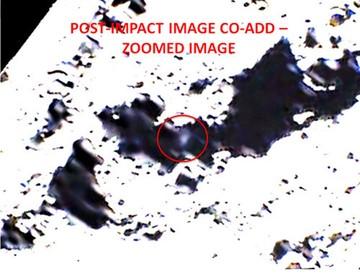 Вспышка от взрыва в кратере Кабеус. Некоторыесчитают, что он был ядерным