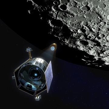 Так, по информации НАСА, выглядела бомбардировка на начальном этапе