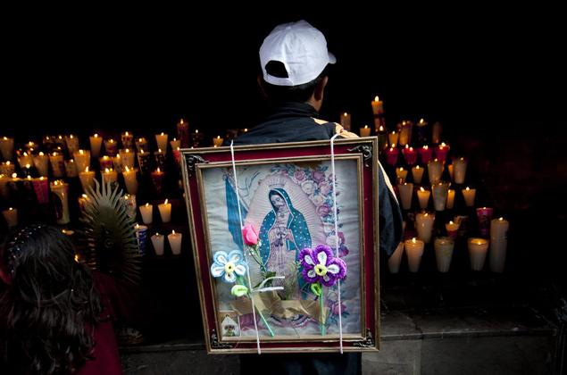 Жители Латинской Америки свято чтут образ Пресвятой Девы Марии Гваделупской.