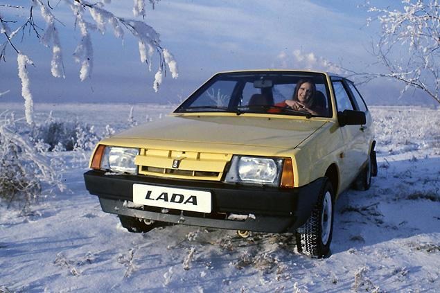 ВАЗ-2108 образца 1984 года.