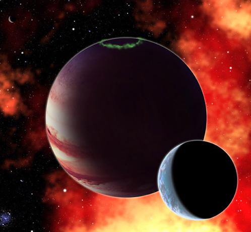 Жизнь возможна не только на планетах, но и на ллунах