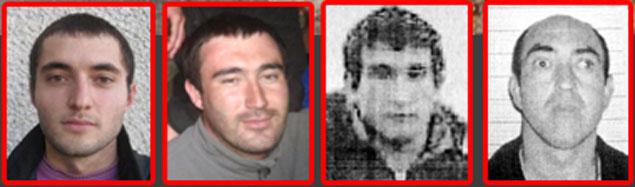 Стали известны имена четырех подозреваемых в убийствах