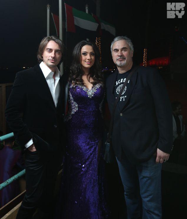Валерий Меладзе с удовольствием общался и с публикой и с ведущими вечера