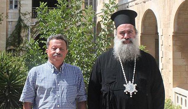 Исраэль Шамир и Архиепископ Феодосий