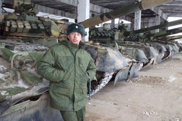 Командир экипажа взорвавшегося Т-72 лейтенант Дилюс Гарипов