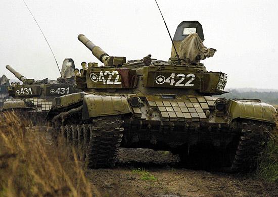 Танки Т-72 Б3 поступили в Восточный военный округ в декабре 2013 года