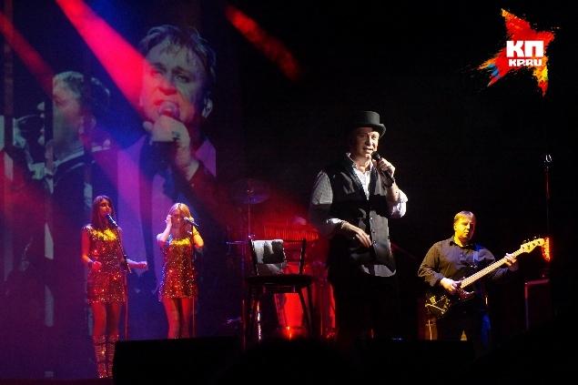 Музыкальные композиции сопровождались настоящим световым шоу