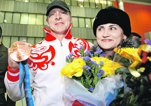 Александр и Татьяна Зубковы.