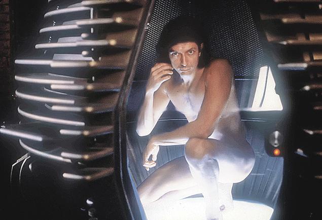 В фильме ужасов «Муха» (1986) Голдблюм сыграл ученого, по ошибке скрестившего себя с мухой. Снял ленту Дэвид Кроненберг.