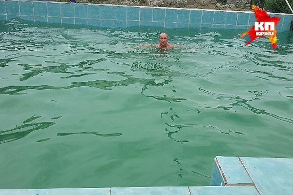 А вот бассейн - пости Турция.