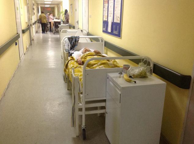 Больничные коридоры