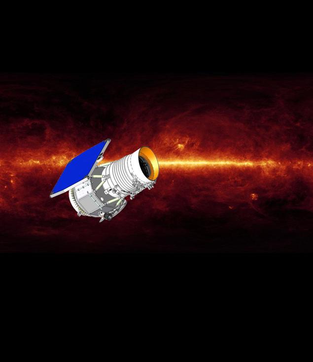 Так выглядит орбитальный инфракрасный телескоп