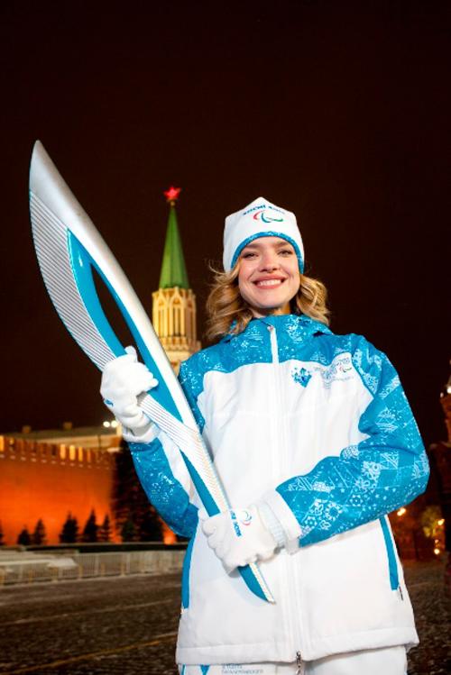 Наталья решила поддержать паралимпийцев.