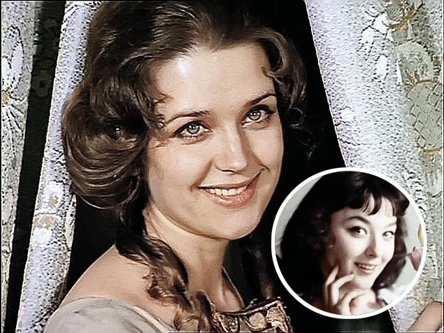 Ирина Алферова и ее «голос» Анастасия Вертинская (в кружке).