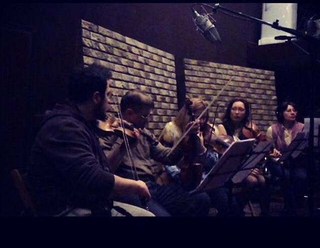 Московская студия Валерия Парамонова минувшей ночью: идет запись