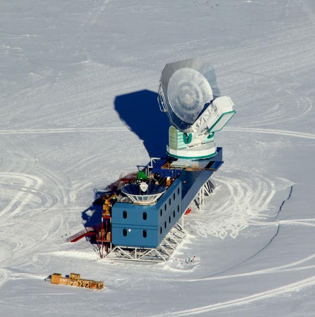 Телескоп BICEP2 в Антарктиде