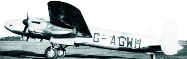 Star Dust, транспортный самолет Avro Lancastrian, разбился в Андах с 6 пассажирами и 5 членами экипажа.