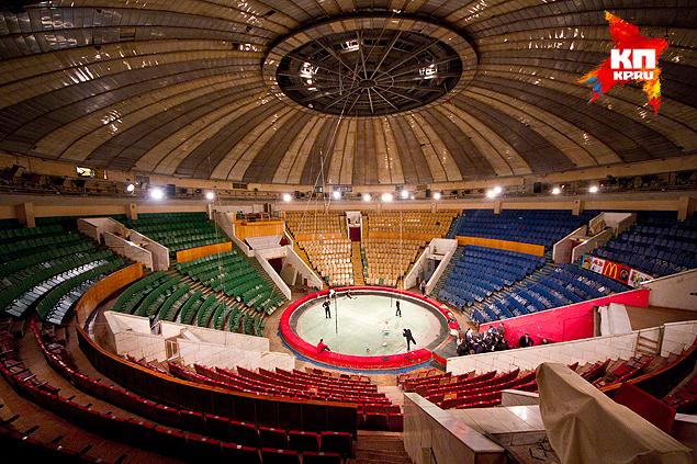 Челябинский цирк впервые за 35