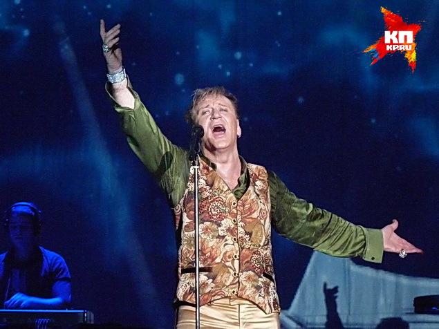 Сергей Пенкин покорил воронежцев своим шоу.
