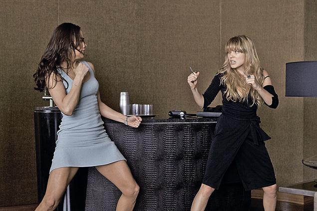 Кулачный поединок между героинями Сейду и Полы Пэттон (слева) стал украшением четвертой части саги «Миссия невыполнима».