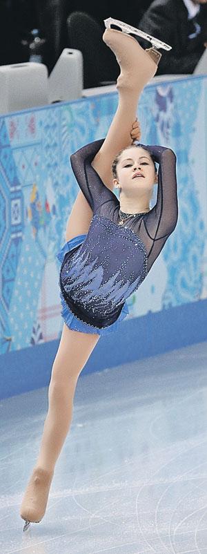 На этой неделе Юле Липницкой есть что доказывать:  в олимпийском  Сочи она выиграла не все, что хотела...