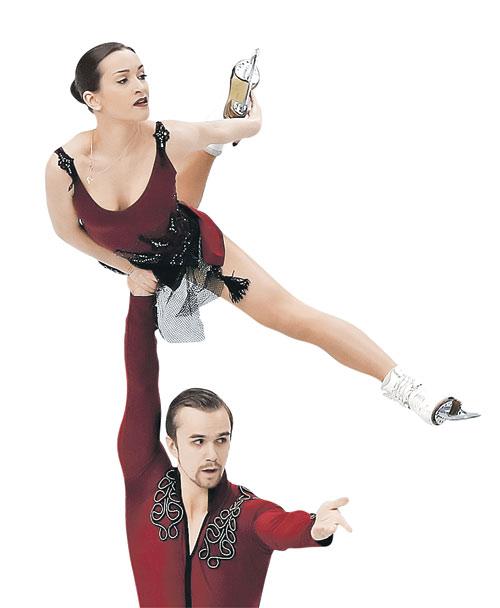 Ксения и Федор: серебряный полет на финише феноменального сезона.