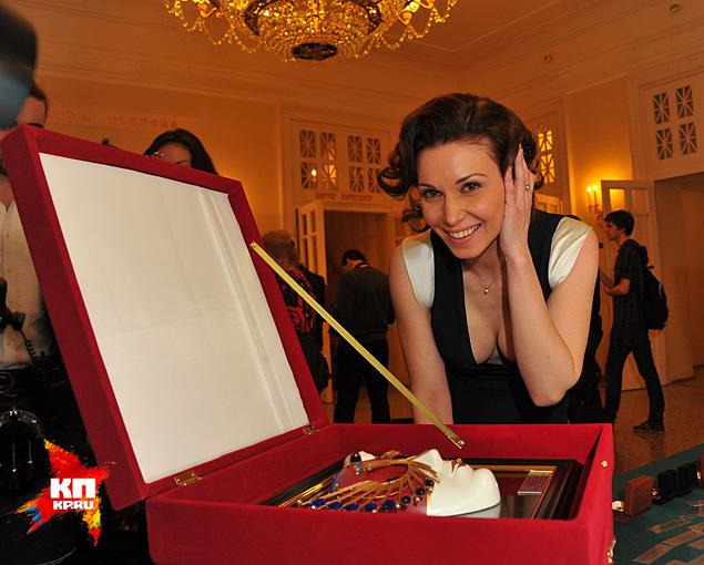 «Золотую Маску», как лучшей актрисе драматического театра, вручили Александре Урсуляк