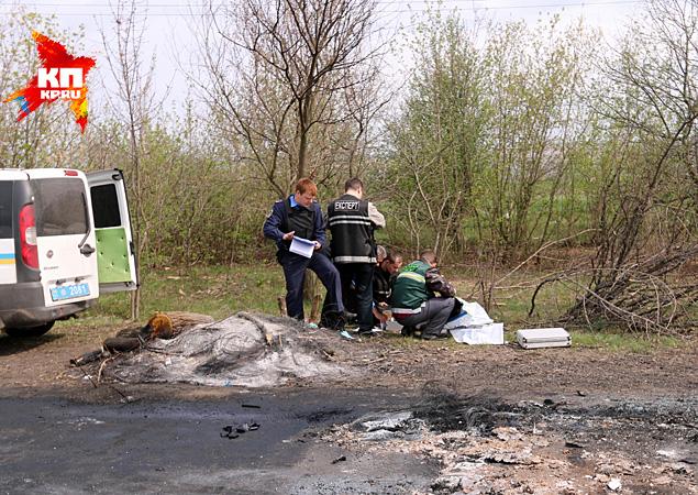 «Правый сектор» в светлый праздник расстрелял блокпост под Славянском
