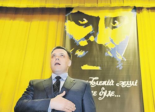 Лидер националистов О. Тягнибок близок к неоязычникам.