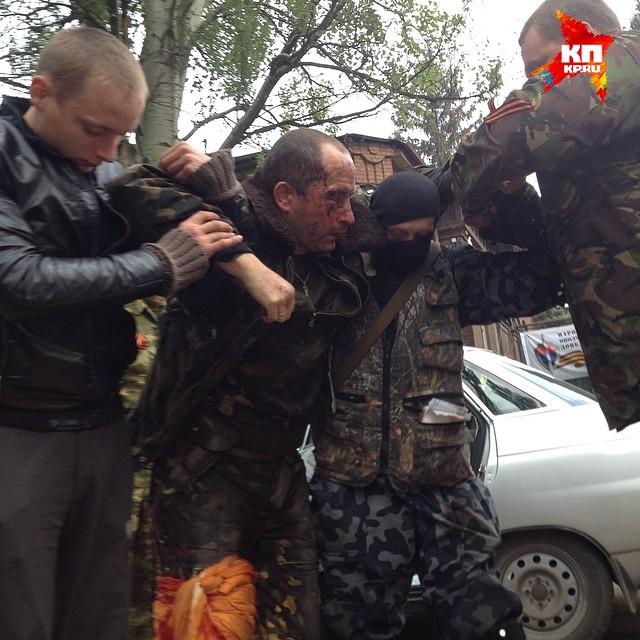 Раненного пилота сбитого Ми-24 забрала