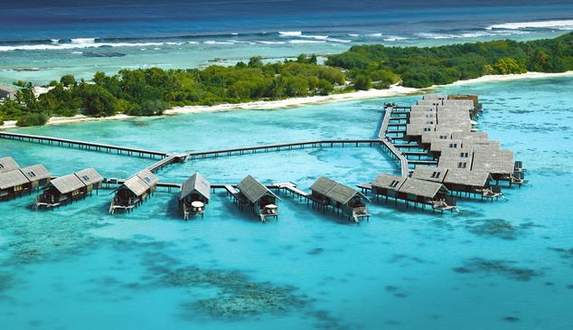 Роскошный курорт Shangri-La's Villingili Resort & Spa, на котором поселились Собчак, Виторган и Нарусова, предлагает своим постояльцам богатый выбор вилл.