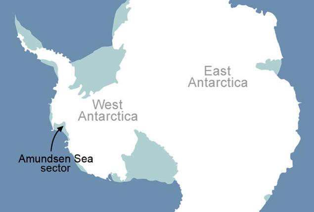 Лед, растаявший  даже на крохотном участке Антарктиды, способен устроить настоящий потоп
