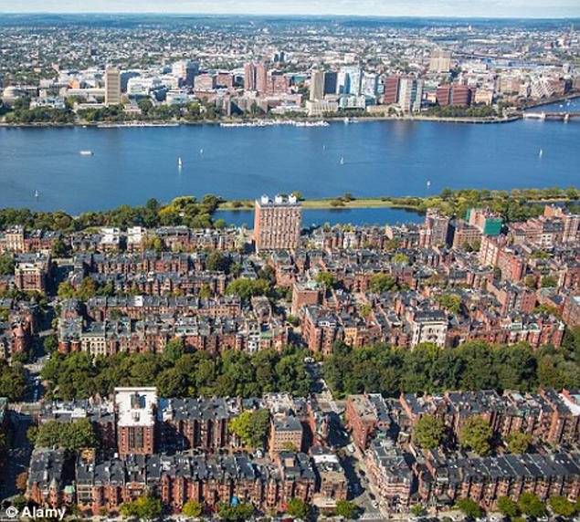 Так выглядит прибрежный район Бостона сейчас