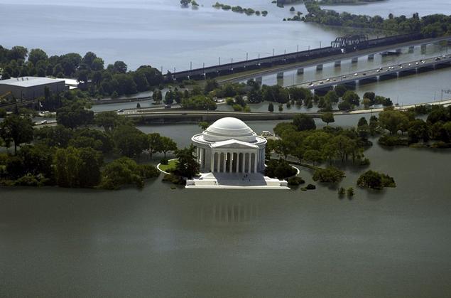 И Вашингтон затопит