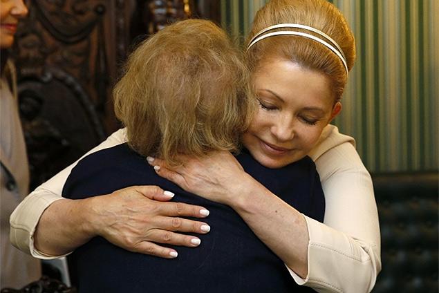 Тимошенко появилась с новой